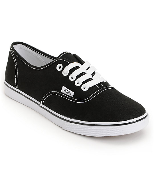 vans shoes vans authentic lo pro black shoes CBUDPYK