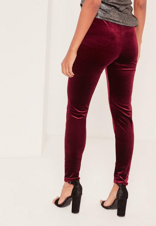 velvet leggings previous next FBURNXO