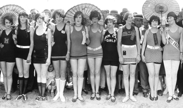 vintage bathing suits, c.1925. OLNHVON