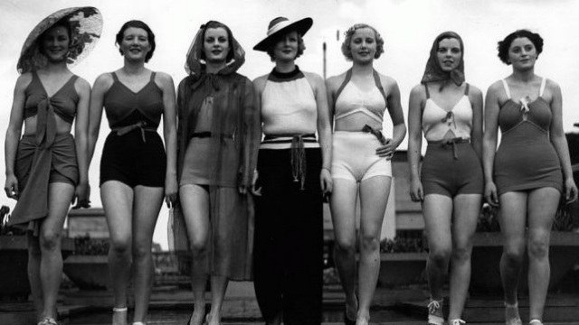 vintage bathing suits celebrate your inner bombshell, from the beach to the bedroom! LRXDUQG