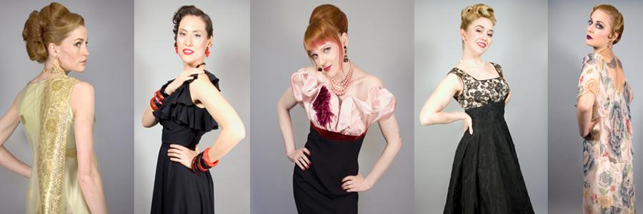 vintage clothing vintage dresses midcentury 1950s 1960s bombshells LIARXUN