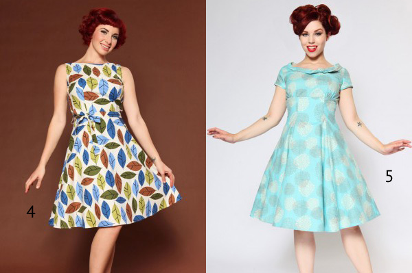vintage style dresses retro appeal EIOJLAG
