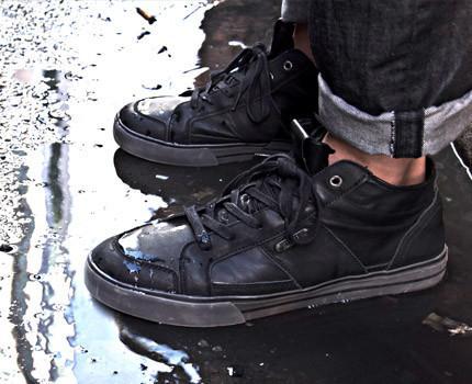 waterproof shoes h20 clipless bike shoe | dzrshoes - on the foot DQVUFRJ