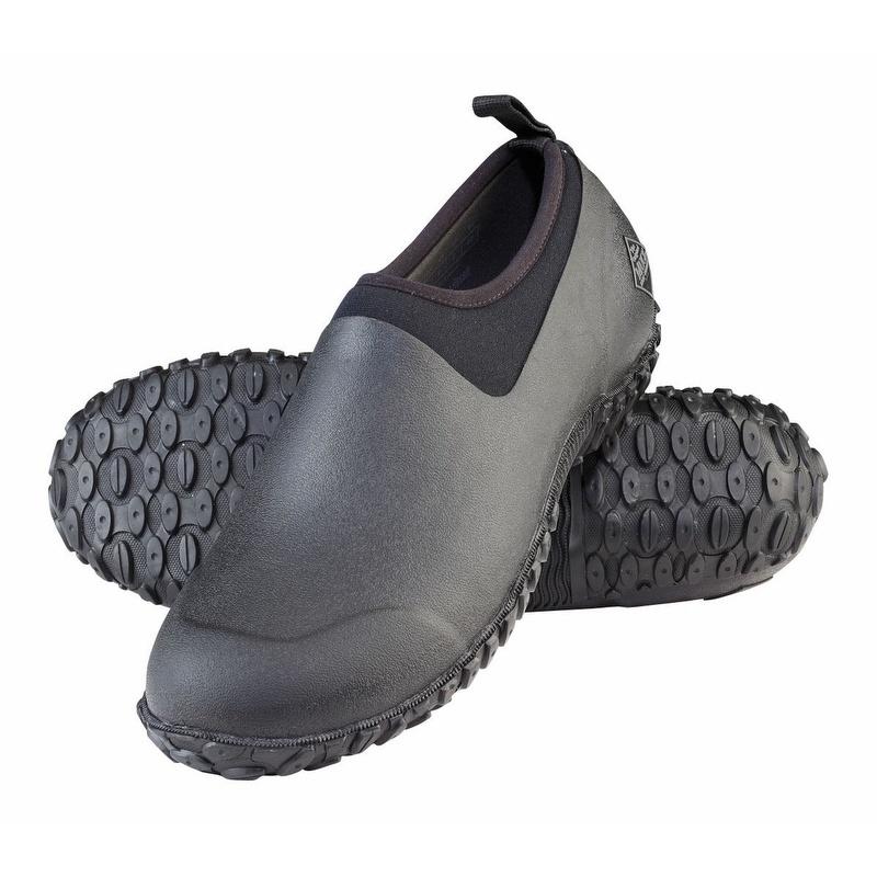 waterproof shoes muck boots menu0027s muckster ii waterproof shoe black - m2l000 JEXKMSH