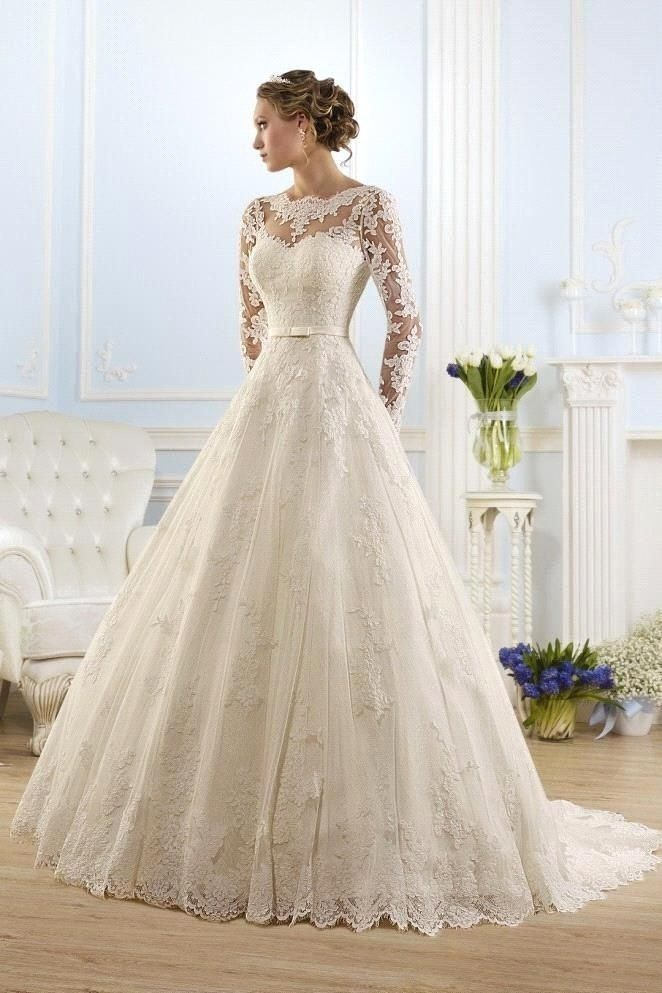 Exuding Grace And Elegance Through Wedding Dresses With Sleeves