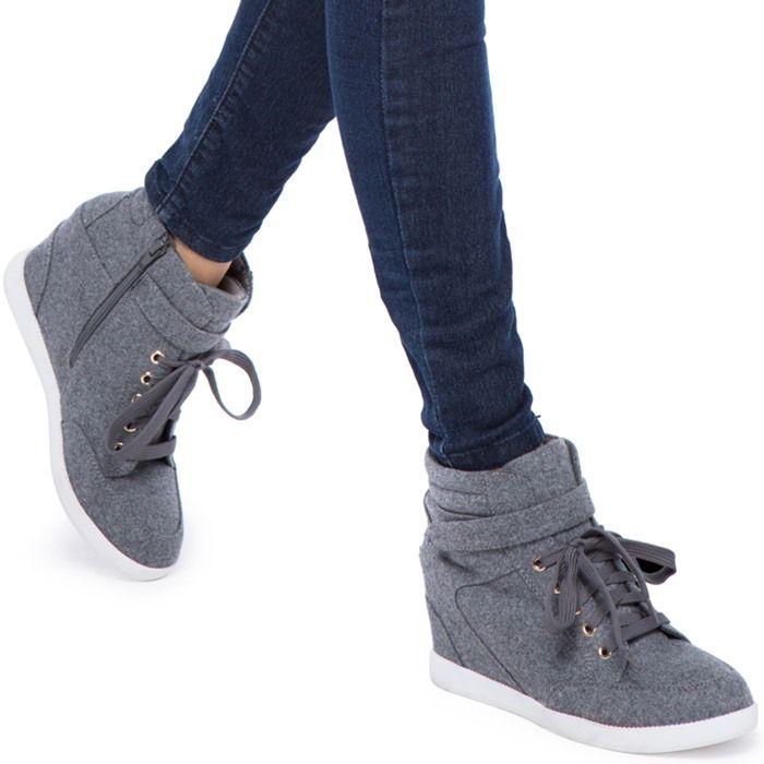 Trend of wedge sneaker