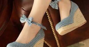 wedges heels shoes wedges wedge heel high heels bows VALIDCG
