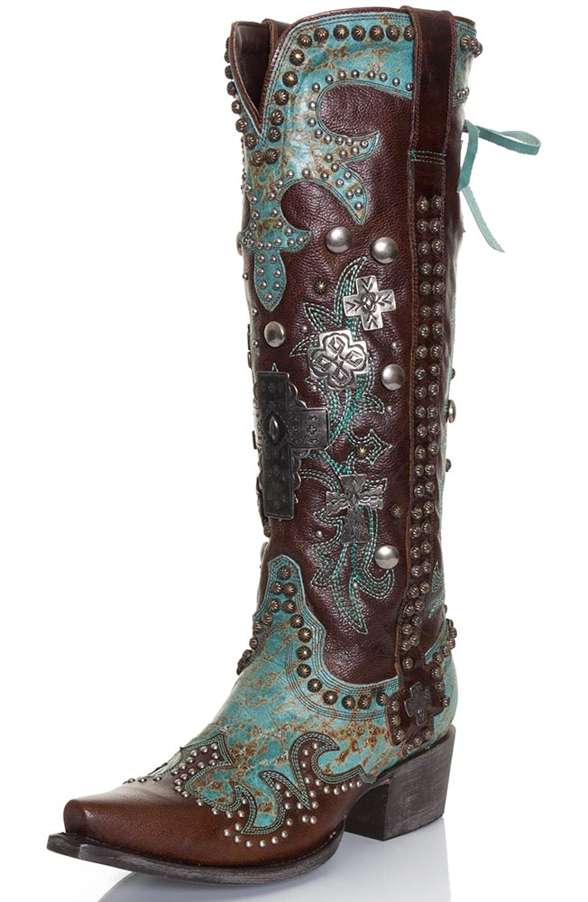 western boots for women double d ranch by lane womenu0027s cowboy boots - ammunition (closeout) KTWYWHX