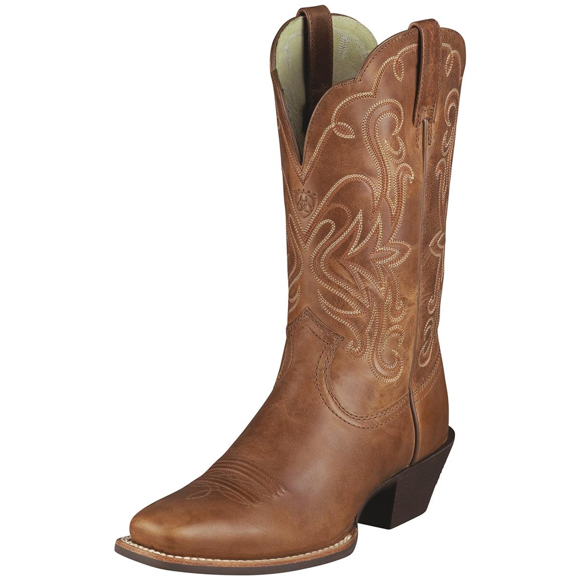 Appealing western boots for women