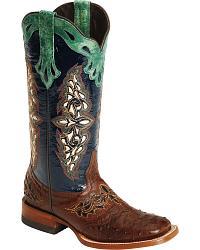 western boots for women womenu0027s exotic boots KJMFAMR