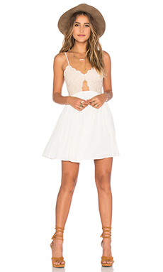 white dresses for women x revolve bryce mini dress HRRPGWV