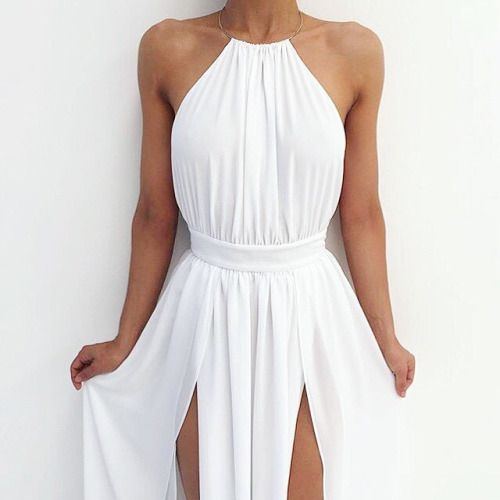 white grecian dress IHFGPIG