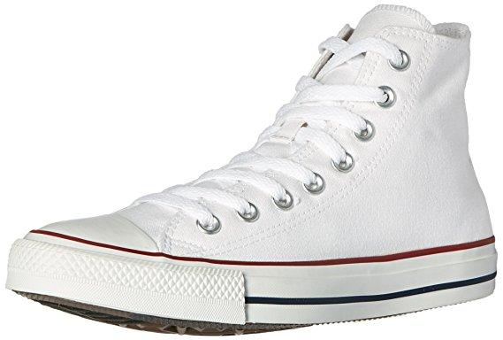 white high top converse converse chuck taylor all star high top optical white m7650 mens 8 VAERXBL