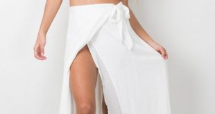 white maxi skirt break a leg maxi skirt in white OGOUNHX