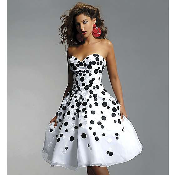 white party dress black and white party dresses | the black and white dress: dinner party or IUDXSVV