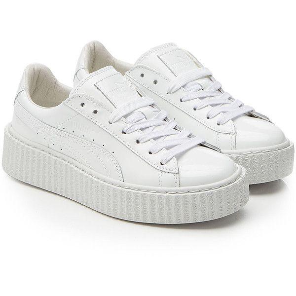 white platform sneakers fenty x puma by rihanna puma x rihanna fenty patent leather creepers  (43.165 huf) RYWCLTE