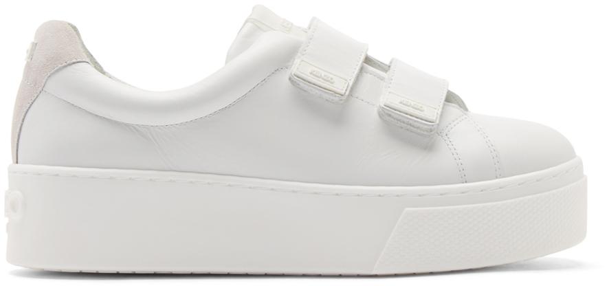 white platform sneakers gallery OKRWWVJ