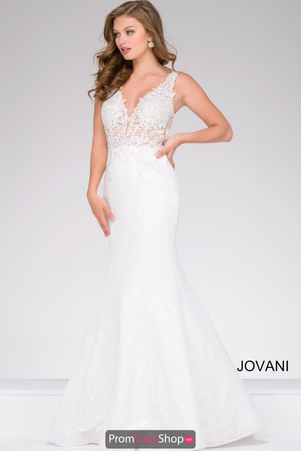 white prom dresses jovani dress 47561 ATXIBTA