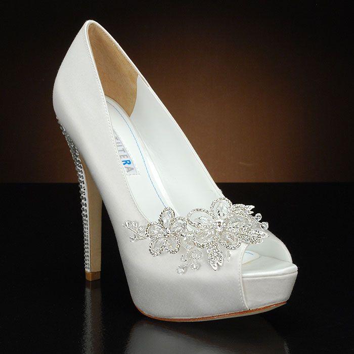 white wedding shoes david tutera princess wedding shoes and princess dyeable bridal shoes white: LNDNTAQ
