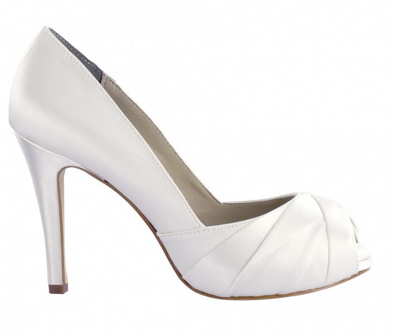 white wedding shoes mackenzie by liz rene wedding shoes in white XGKADTL
