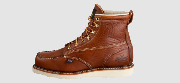 winter boots for men menu0027s thorogood 814 american heritage 6-inch moc toe winter boots VEKPHOU