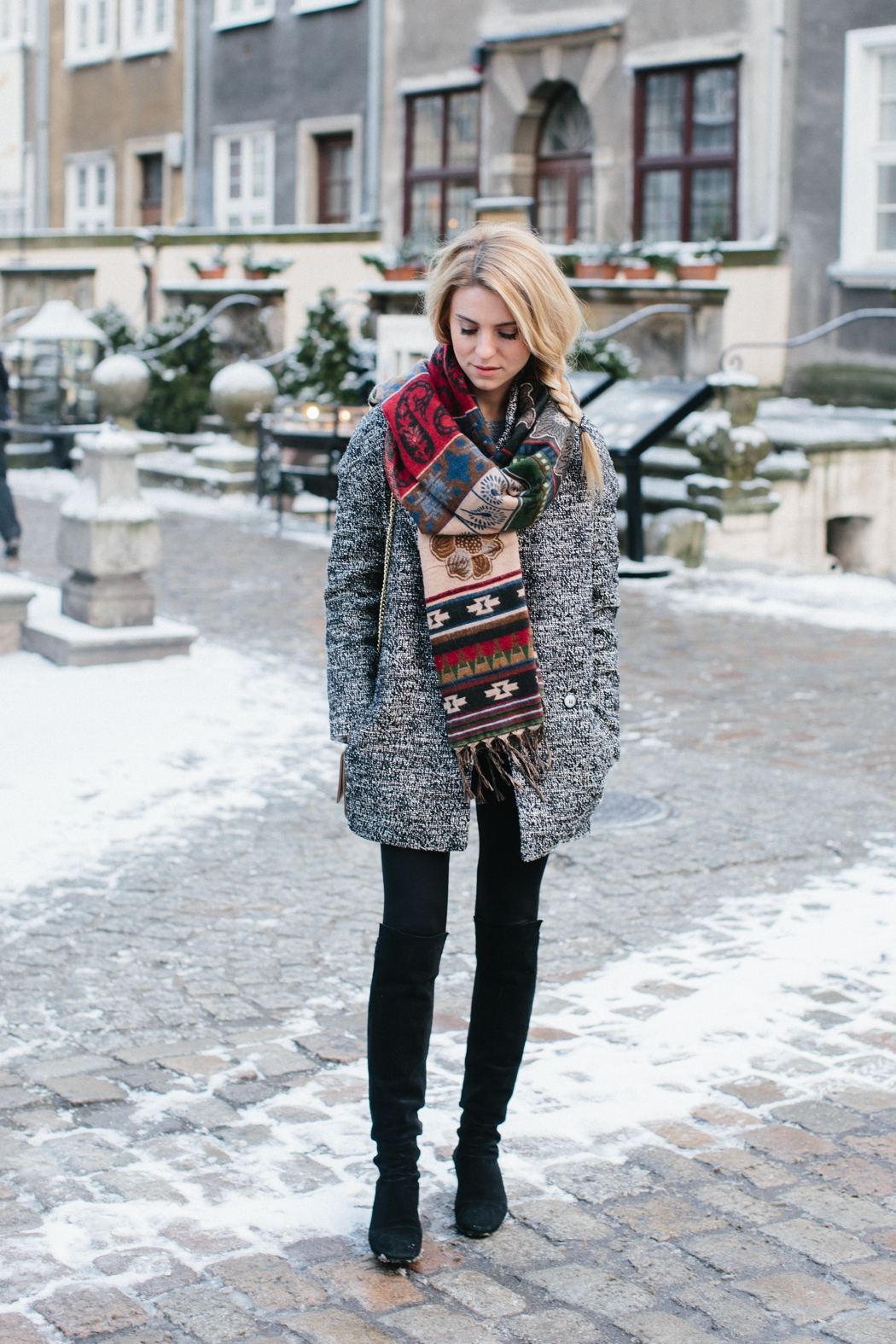 winter outfits oversized scarves will always make a fantastic addition to your winter  outfit! katarzyna tusk DDQDYBJ