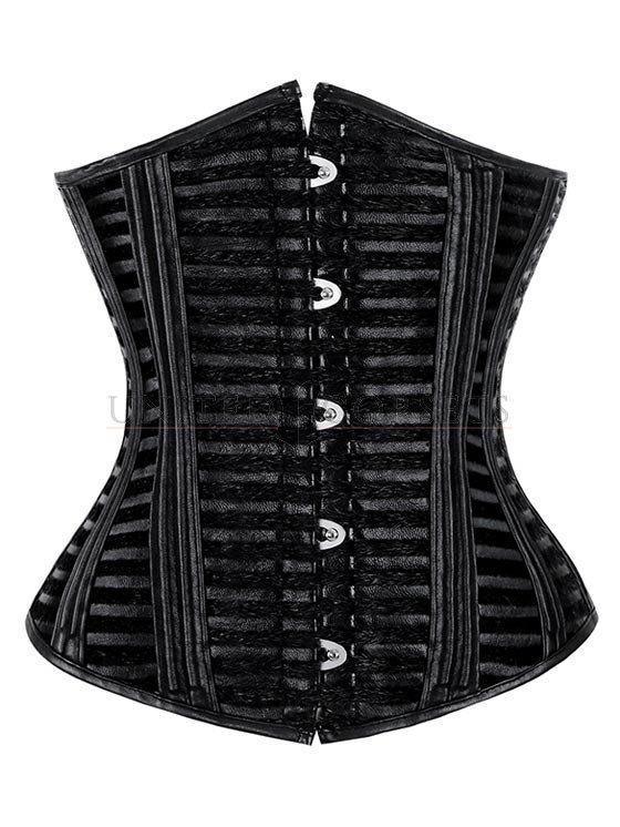 womenu0027s sexy black waist cincher underbust corset CTMCKTR