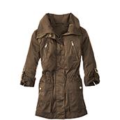 womens coat parka KZUBWFT