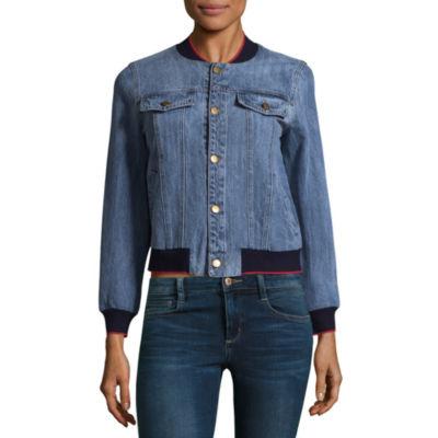 womens coat union bay denim jacket-juniors CLBPHIA