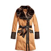womens coat wool FLNDQKJ