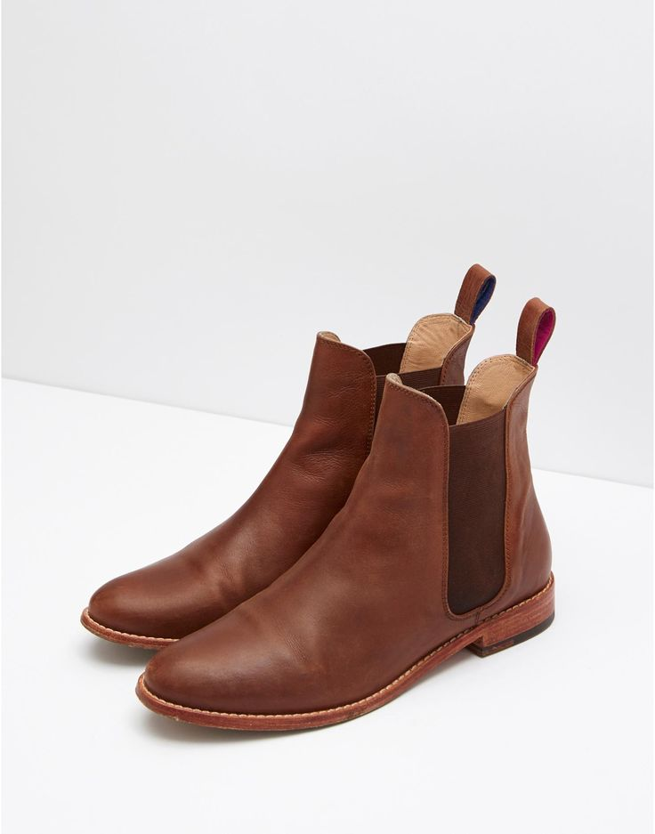 Get a bold look with women's leather boots