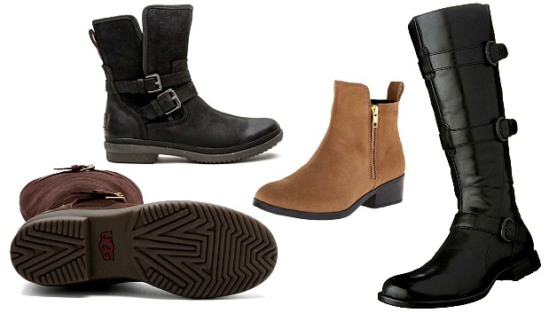 womens leather boots womens waterproof leather boots for the autumn rain and winter snow AUSKMFM