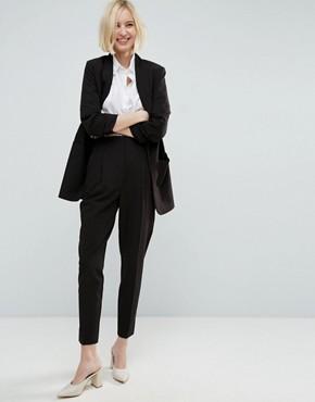 womens suit asos mix u0026 match highwaist cigarette trousers WXQRHJE