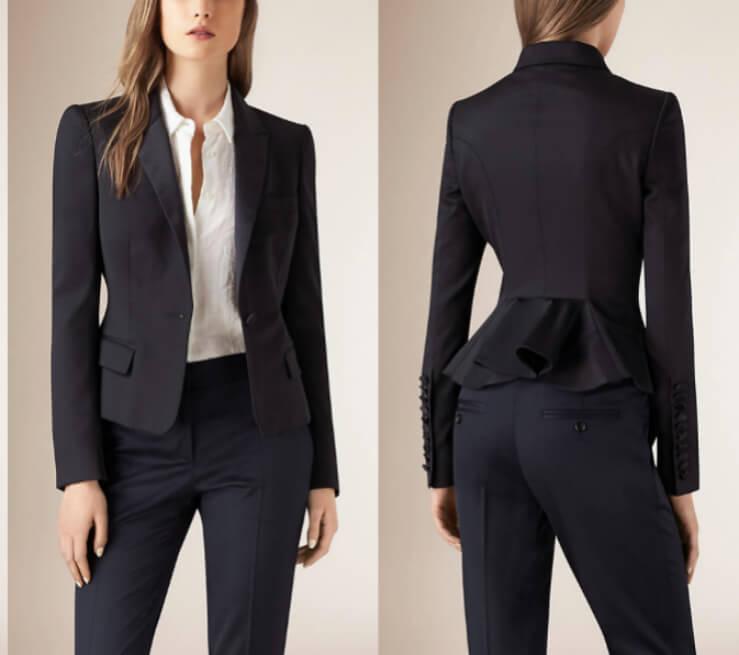 womens suit designer suits for women burberry QVTDWAO