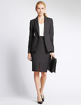 womens suit quick look · welt pockets suit UPUBGWL