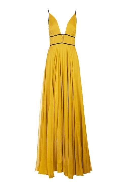 yellow maxi dress chiffon beaded maxi dress - dresses - clothing OJCLXRJ