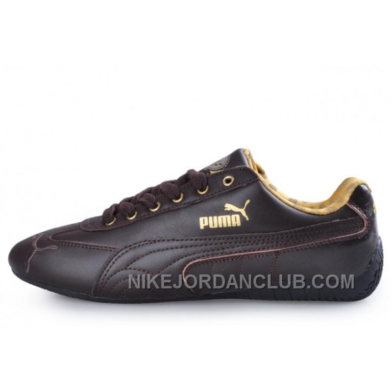 ... puma speed cat leather shoes chocolate authentic ... UDTBBSL