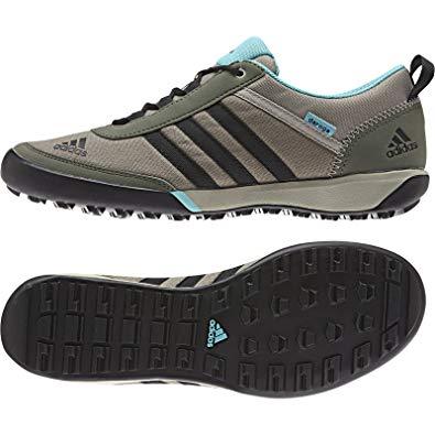 Adidas daroga adidas outdoor daroga sleek canvas hiking shoe - womenu0027s clay/black/base  green 10 YSNKLAO