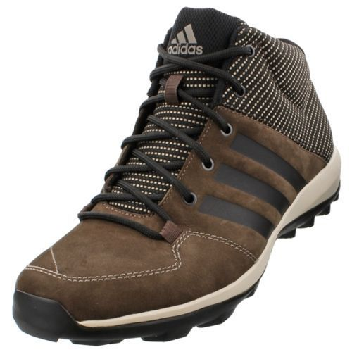 Adidas daroga menu0027s adidas daroga plus mid lea hiking shoe 11 m brown/black/simple brown CARFBMI