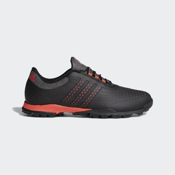 adipure sport shoes black da9136 XNASSLE