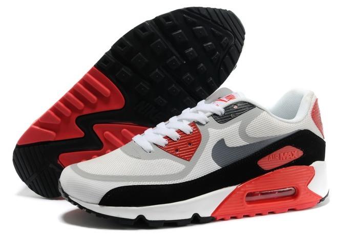 Airmax nike shoes cheap nike air max 90 prem tape red grey shoes nike air max LGKSVZP