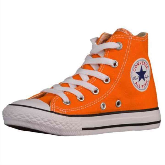 authentic orange converse all star chuck taylor LKIVRZE