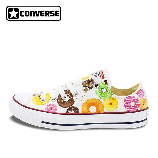 converse for girls low top donut original design converse all star women men shoes hand IRGIYFB