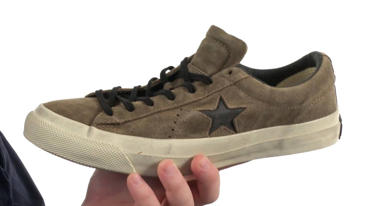 Converse john varvatos one star converse by john varvatos one star brushed suede sku:8389403 - youtube PPFUILB