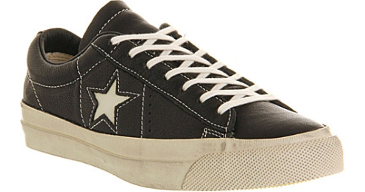 Converse john varvatos one star converse john varvatos one star trainers - for men in black for men EUDJBHV