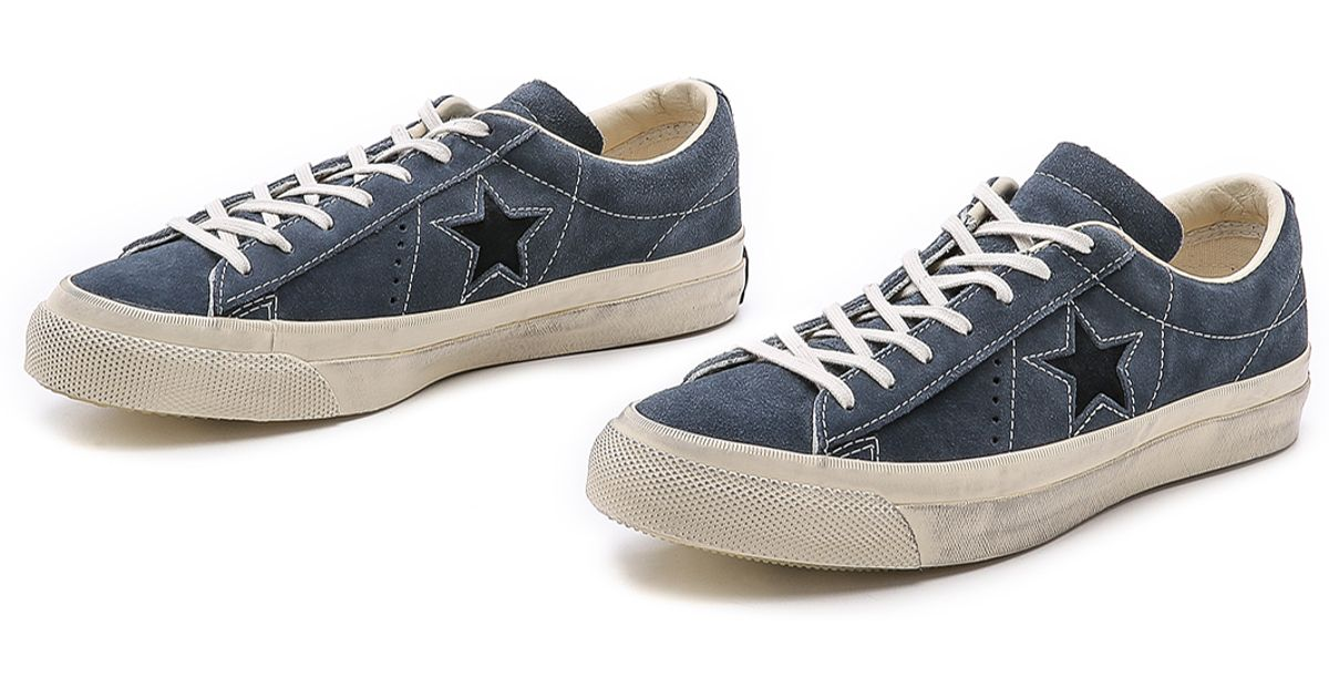 Converse john varvatos one star lyst - converse one star sneakers in blue for men KDECNBG