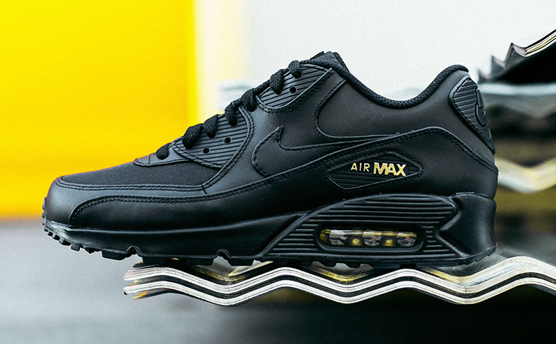 nike-air-max-90-premium nike air max 90 premium black metallic gold releasing on black friday ITKTVSE