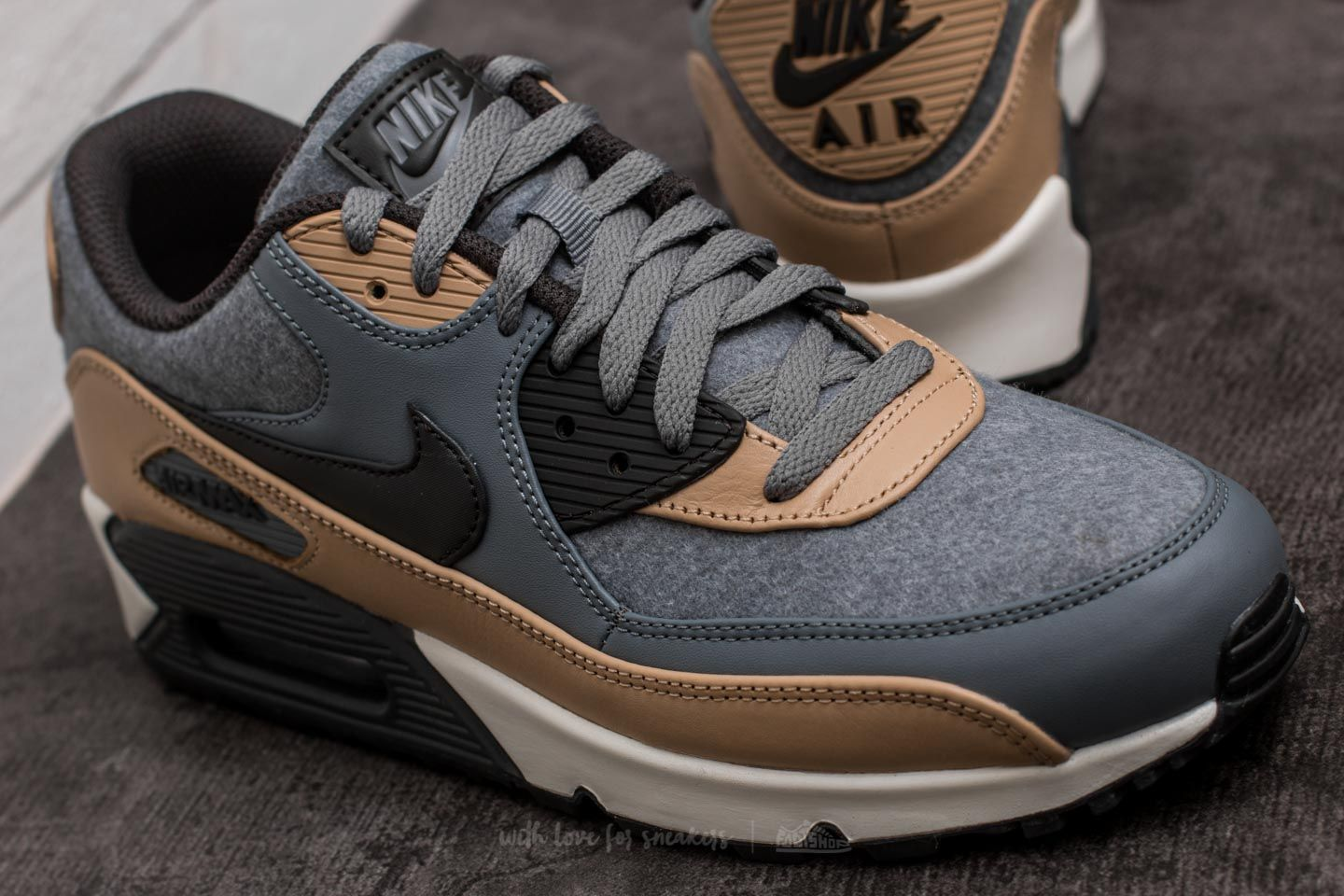 nike-air-max-90-premium nike air max 90 premium cool grey/ deep pewter-mushroom at a great price KTJMUED