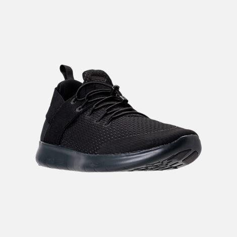 Nike Free Black shoes three quarter view of womenu0027s nike free rn commuter 2017 running shoes in KAIDKYG