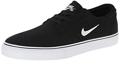 nike skate shoes nike menu0027s sb clutch skateboarding shoe, black, 10 d(m) us MDTAWSG